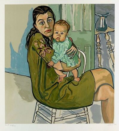 Alice Neel, 'Mother and Child', 1982