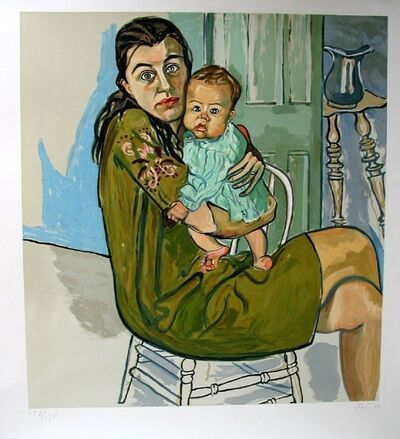 Alice Neel, 'Nancy and Olivia', 1982