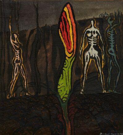 Douglas Roberts, '(Figures in Dark Landscape)', 1942