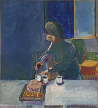 Richard Diebenkorn, 'Girl with Cups', 1957