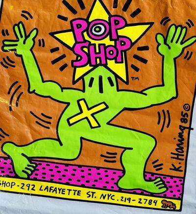 Keith Haring, 'Original Keith Haring Pop Shop bag (Keith Haring pop shop New York)', 1985