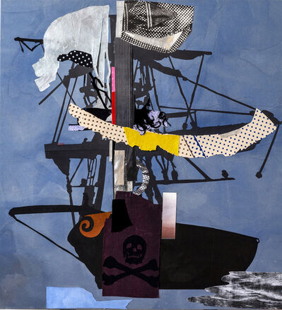 Sally Smart, 'The Exquisite Pirate Ship Oceania | Silver | Flag', 2012