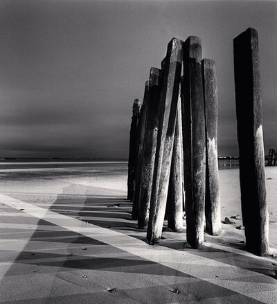 Michael Kenna, 'Night Shadows, Mont St. Malo, France', 2000