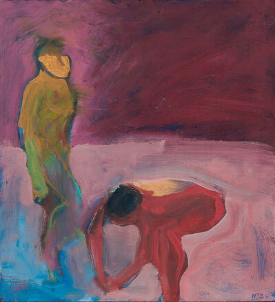 William Theophilus Brown, 'Red Swimmer'
