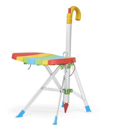 "Gaetano Pesce, 'Zerodisegno ""Umbrella"" folding chair', 1990s"