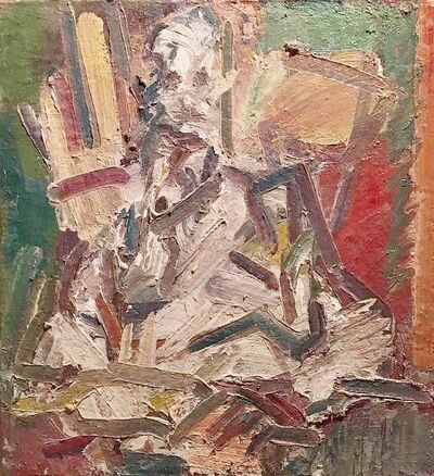 Frank Auerbach, 'David Landau seated ', 2011/12