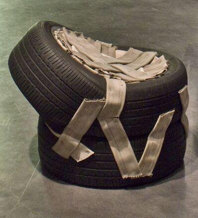 Nari Ward, 'Tired Seat MB (Michelin, Bridgestone)', 2014