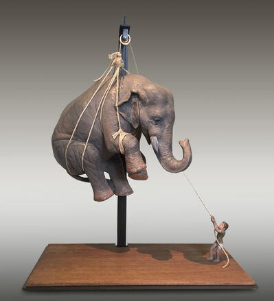 Stefano Bombardieri, 'Matteo e l'elefante', 2017