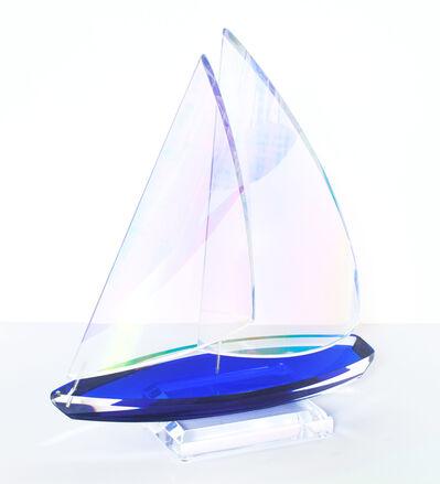 Will Grant, 'Monaco Sailboat - Acrylic Blue', 2016
