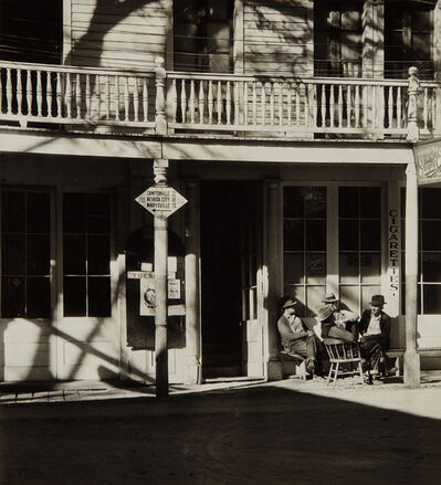 Alma Lavenson, 'St. Charles Hotel, Downieville', 1934