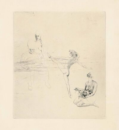 Pablo Picasso, 'Salomé, from: La Suite des Saltimbanques', 1905