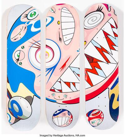Takashi Murakami x Complexcon, 'Flying DOB, triptych', 2018