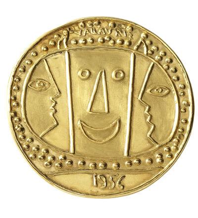 Pablo Picasso, 'Médaillon Vallauris', 1965