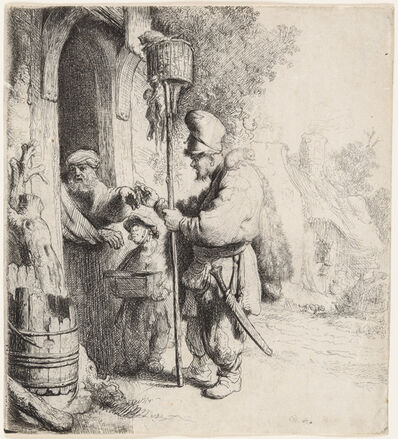 Rembrandt van Rijn, 'The Rat Catcher (The Rat Poison Peddler)', 1632