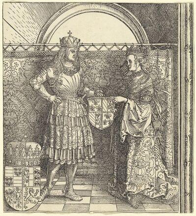 Albrecht Dürer, 'The Betrothal of Maximilian with Mary of Burgundy', 1511