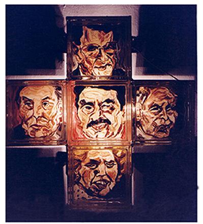 Isack Kousnsky, 'Political Confusion (Cross #1)', 1991
