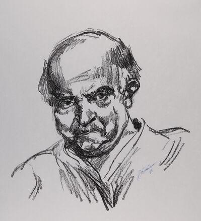 Ludwig Meidner, 'Selbstbildnis', 1965