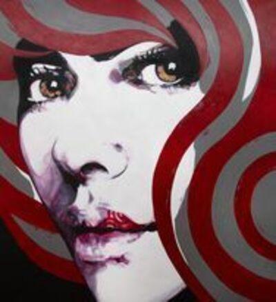 Luis Bivar, 'Spiral Face #1', 2021