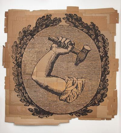 """Andrea Bowers, 'The Republic of Labor (""""The Union"""", June 14th, 1836)', 2013"""