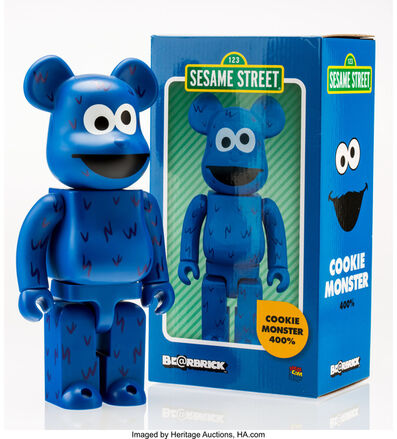 BE@RBRICK X Sesame Street, 'Cookie Monster 400%', 2016