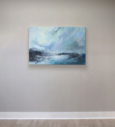 Janette Kerr, 'Sea state force 2 - Small waves, bright day', 2020