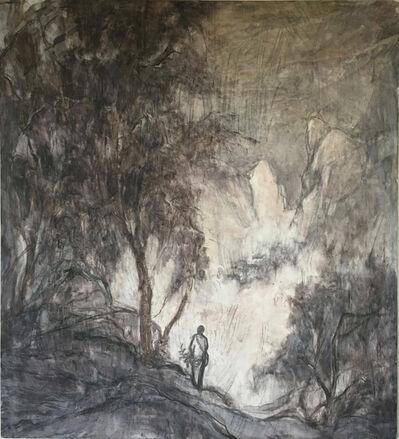 Wang Yabin, 'Mountain and Trees in Autumn Evening ', 2016