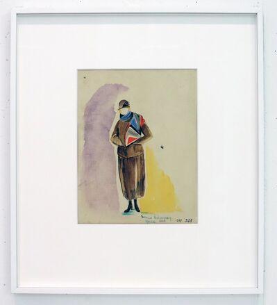 Sonia Delaunay, 'Projet d'echarpe (m 528)', 1923