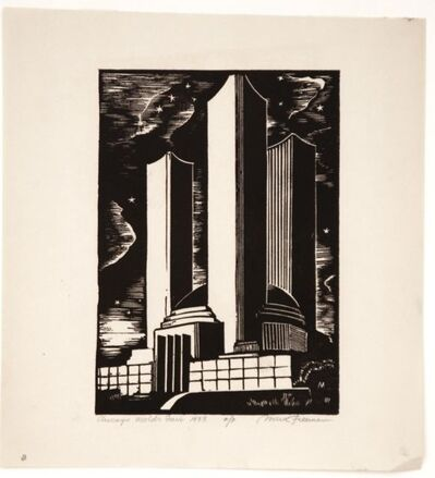 Mark Freeman, 'Chicago Worlds Fair (#1): Federal Building (Portfolio of 6)', 1933