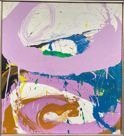 Norman Bluhm, 'Purple Light', 1968