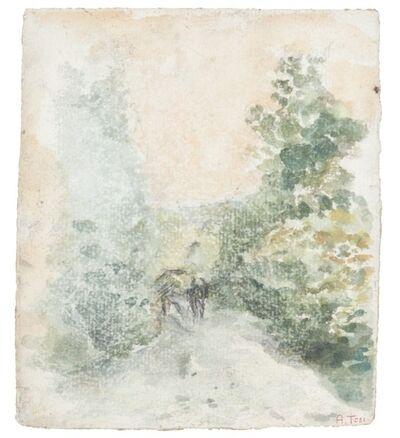 Arturo Tosi, 'A passeggio nei boschi', 1914-15