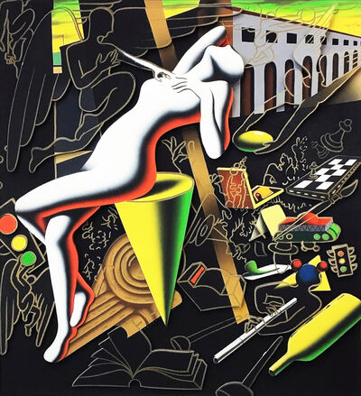 Mark Kostabi, 'IMPERFECT BALANCE', 2014