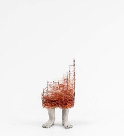 Lene Kilde, 'The Orange Dress', 2018