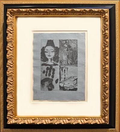 Pablo Picasso, 'Quatre Sujets Pour La Barre D' Appui (Bloch 295a) ', 1936