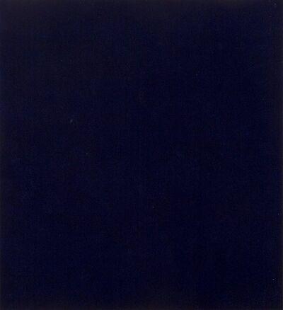 Alfonso Fratteggiani Bianchi, '#237 Prussian Blue', 2005
