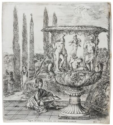 Stefano Della Bella, 'The Medici Vase', circa 1656