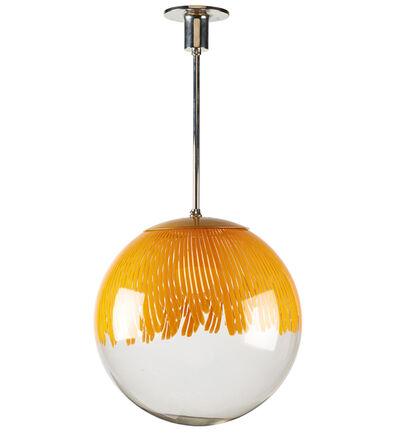 Ludovico Diaz de Santillana, 'Anemone pendant lamp, Murano, Italy', 1960s