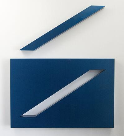 Lori Cozen-Geller, 'Conviction, Blue', 2014