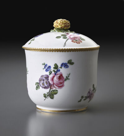 Sèvres Porcelain Manufactory, 'Sugar Bowl', 1764