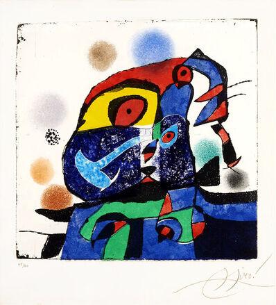 Joan Miró, 'Gaudí V', 1979