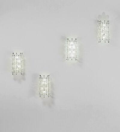 Venini, 'Set of four 'Balloton' wall lights', circa 1957