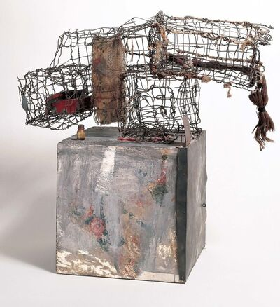 Robert Rauschenberg, 'Three Traps for Medea', 1959