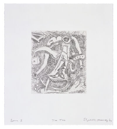 Elizabeth Murray, 'Toe Two', 1994