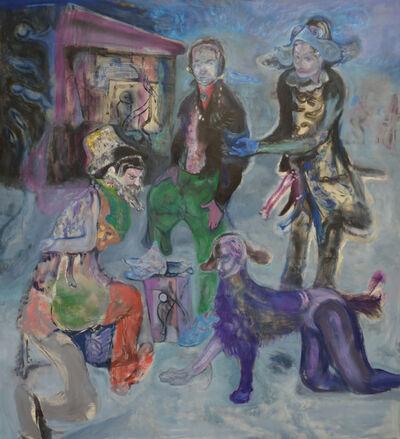 Nebojša Despotović, 'Džeparoši sa bajlonove pijace (Pickpockets from Bajloni market)', 2019