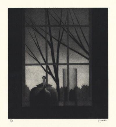 Robert Kipniss, 'Window w/vase & trees.', 2016