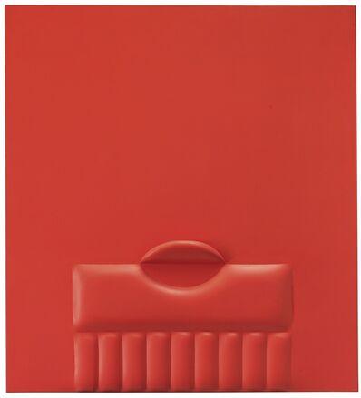 Agostino Bonalumi, 'Rosso', 1965