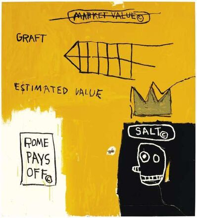 Jean-Michel Basquiat, 'Rome Pays Off', 2004