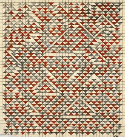 Anni Albers, 'Study for Camino Real', 1967