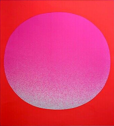 Rupprecht Geiger, 'Pink on red', c. 1969
