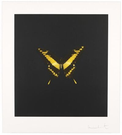 Damien Hirst, 'The Souls on Jacob's Ladder Take Their Flight (Plate 6)', 2007