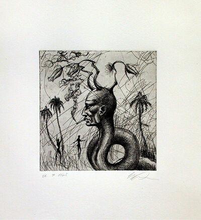 Ashley Bickerton, 'Snake Head No. 1', 2006